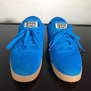 Converse Shoes - Converse Cons KA II Blue Suede Shoes Sz 11.5